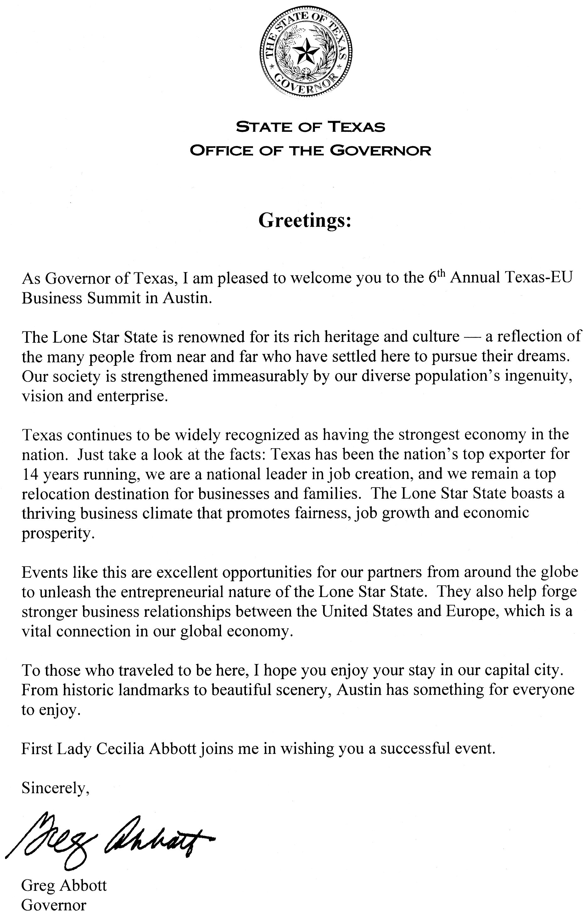 Texas EU Business Summit 2017 May 9 2017 University Of